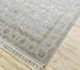 Jaipur Rugs - Hand Knotted Wool and Silk Grey and Black QNQ-44 Area Rug Floorshot - RUG1063202