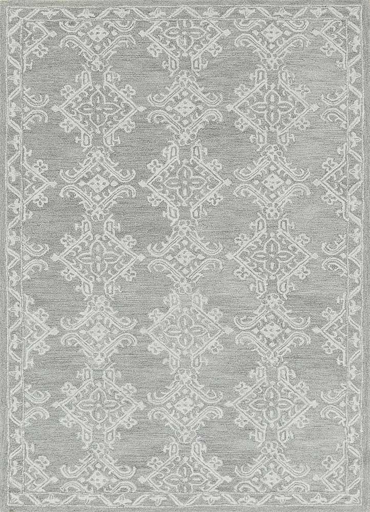 Jaipur Rugs Hand Tufted Wool Grey And Black Tlr 34 Area Rug Rug1111988