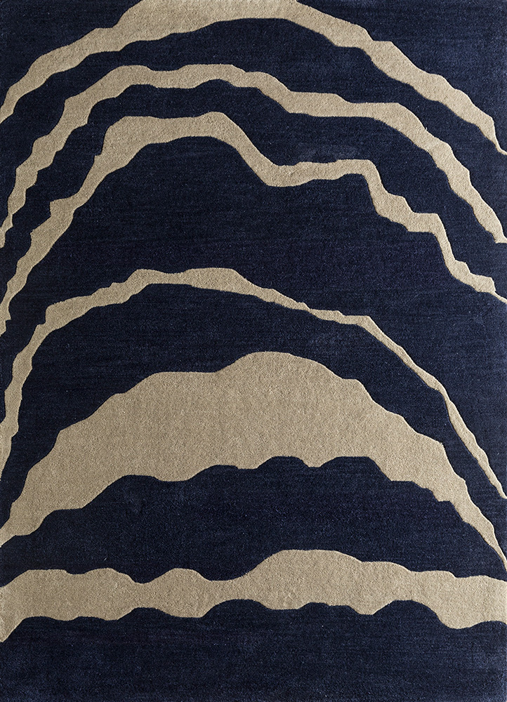 Jaipur Rugs Hand Tufted Wool Blue Tra 524 Area Rug Rug1095537