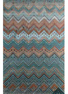 artisan-originals-red-orange-peacock-blue-rug1095910