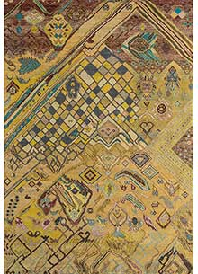 artisan-originals-fresh-turquoise-ginger-brown-rug1110903
