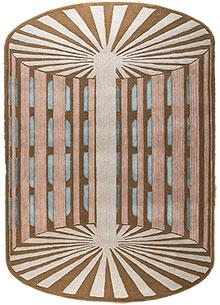 Jaipur Wunderkammer TOP-112 Wool and Viscose Ivory Area Rug RUG1095166 Jaipur Rugs