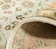 Jaipur Rugs - Hand Knotted Silk Ivory ASL-16 Area Rug Loomshot - RUG1023506