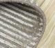 Jaipur Rugs - Hand Loom Wool and Viscose Beige and Brown HWV-2000 Area Rug Loomshot - RUG1031796