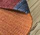 Jaipur Rugs - Flat Weave Wool Red and Orange PDWL-457 Area Rug Loomshot - RUG1098502