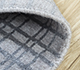 Jaipur Rugs - Hand Loom Wool and Tensilk Grey and Black PHWT-02 Area Rug Loomshot - RUG1098232