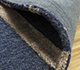 Jaipur Rugs - Hand Tufted Wool and Viscose Blue TAQ-229 Area Rug Loomshot - RUG1106856