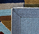 Jaipur Rugs - Hand Tufted Wool and Viscose Blue LEQ-16 Area Rug Prespective - RUG1083413