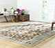 Jaipur Rugs - Flat Weaves Wool Beige and Brown AFDW-13 Area Rug Roomscene shot - RUG1091026