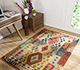 Jaipur Rugs - Flat Weaves Wool Gold AFDW-23 Area Rug Roomscene shot - RUG1090883
