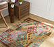 Jaipur Rugs - Flat Weave Wool Multi AFDW-34 Area Rug Roomscene shot - RUG1090938