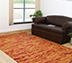 Jaipur Rugs - Flat Weaves Wool Red and Orange CX-2357 Area Rug Roomscene shot - RUG1053854