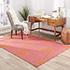 Jaipur Rugs - Flat Weave Wool Pink and Purple DW-108 Area Rug Roomscene shot - RUG1038712