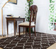 Jaipur Rugs - Flat Weave Wool Beige and Brown DW-162 Area Rug Roomscene shot - RUG1060328