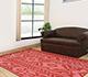 Jaipur Rugs - Flat Weaves Wool Red and Orange DW-51 Area Rug Roomscene shot - RUG1033147
