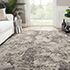 Jaipur Rugs - Hand Knotted Wool and Bamboo Silk Grey and Black ESK-401 Area Rug Roomscene shot - RUG1040350