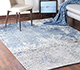 Jaipur Rugs - Hand Knotted Wool and Bamboo Silk Blue ESK-9012 Area Rug Roomscene shot - RUG1082919