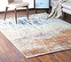 Jaipur Rugs - Hand Knotted Wool and Bamboo Silk Blue ESK-9014 Area Rug Roomscene shot - RUG1085394
