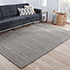 Jaipur Rugs - Hand Loom Wool and Viscose Grey and Black HLV-506 Area Rug Roomscene shot - RUG1084925