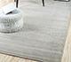 Jaipur Rugs - Hand Loom Wool and Viscose Beige and Brown HWV-2000 Area Rug Roomscene shot - RUG1031796