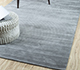Jaipur Rugs - Hand Loom Wool and Viscose Grey and Black HWV-2000 Area Rug Roomscene shot - RUG1054601