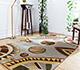 Jaipur Rugs - Hand Tufted Wool and Viscose Ivory LEQ-06 Area Rug Roomscene shot - RUG1081331