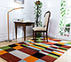 Jaipur Rugs - Hand Tufted Wool and Viscose Red and Orange LEQ-18 Area Rug Roomscene shot - RUG1081532
