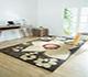 Jaipur Rugs - Hand Tufted Wool Beige and Brown LET-1038 Area Rug Roomscene shot - RUG1063906