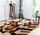 Jaipur Rugs - Hand Tufted Wool Red and Orange LET-1563 Area Rug Roomscene shot - RUG1081345