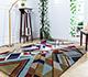 Jaipur Rugs - Hand Tufted Wool Blue LET-1564 Area Rug Roomscene shot - RUG1081534