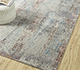 Jaipur Rugs - Hand Knotted Wool and Bamboo Silk Grey and Black LRB-1502 Area Rug Roomscene shot - RUG1085300