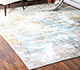 Jaipur Rugs - Hand Knotted Wool and Bamboo Silk Ivory LRB-1508 Area Rug Roomscene shot - RUG1083159