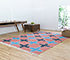 Jaipur Rugs - Flat Weave Wool and Gota Pink and Purple PDCG-13 Area Rug Roomscene shot - RUG1086699