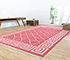 Jaipur Rugs - Flat Weave Cotton Red and Orange PDCT-103 Area Rug Roomscene shot - RUG1107330