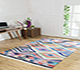 Jaipur Rugs - Flat Weave Cotton Pink and Purple PDCT-111 Area Rug Roomscene shot - RUG1091521