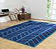 Jaipur Rugs - Flat Weave Cotton Blue PDCT-117 Area Rug Roomscene shot - RUG1091553