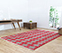 Jaipur Rugs - Flat Weave Cotton Red and Orange PDCT-68 Area Rug Roomscene shot - RUG1086710