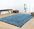Jaipur Rugs - Flat Weave Cotton Blue PDCT-96 Area Rug Roomscene shot - RUG1086748