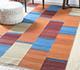 Jaipur Rugs - Flat Weave Wool Red and Orange PDWL-457 Area Rug Roomscene shot - RUG1098502