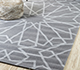 Jaipur Rugs - Flat Weave Wool Grey and Black PDWL-5107 Area Rug Roomscene shot - RUG1059715