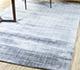 Jaipur Rugs - Hand Loom Wool and Tensilk Grey and Black PHWT-02 Area Rug Roomscene shot - RUG1098232