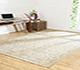 Jaipur Rugs - Hand Knotted Wool Grey and Black PKWL-5102 Area Rug Roomscene shot - RUG1060628