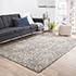 Jaipur Rugs - Hand Knotted Wool Grey and Black PKWL-8001 Area Rug Roomscene shot - RUG1063620