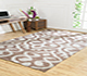 Jaipur Rugs - Hand Knotted Wool and Viscose Beige and Brown PKWV-11 Area Rug Roomscene shot - RUG1040867
