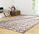 Jaipur Rugs - Hand Knotted Wool and Viscose Beige and Brown PKWV-12 Area Rug Roomscene shot - RUG1033784