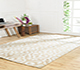 Jaipur Rugs - Hand Knotted Wool and Viscose Beige and Brown PKWV-16 Area Rug Roomscene shot - RUG1040869