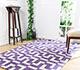 Jaipur Rugs - Hand Tufted Wool Pink and Purple PTWL-51 Area Rug Roomscene shot - RUG1049979