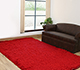 Jaipur Rugs - Shag Synthetic Fiber Red and Orange PX-1371 Area Rug Roomscene shot - RUG1032297