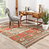 Jaipur Rugs - Flat Weaves Jute Red and Orange PX-2102 Area Rug Roomscene shot - RUG1021664
