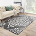 Jaipur Rugs - Hand Knotted Wool and Viscose Green PX-2139 Area Rug Roomscene shot - RUG1035686